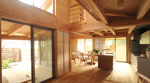 Wooden Japanese Kitchens Design