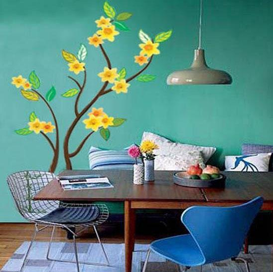 flora wall sticker designs