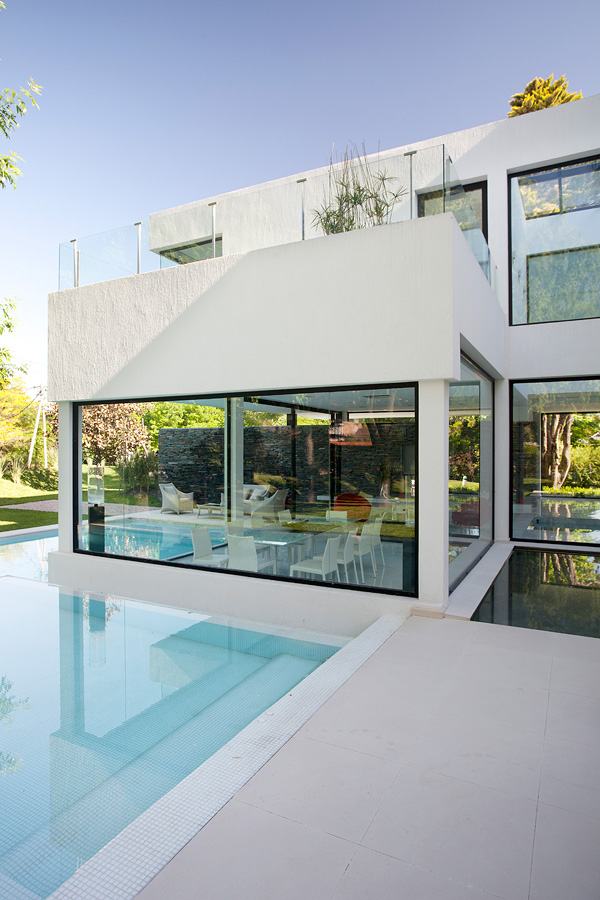 Stunning Carrara House by Andres Remy pool