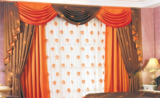 Cafe curtains bathroom window
