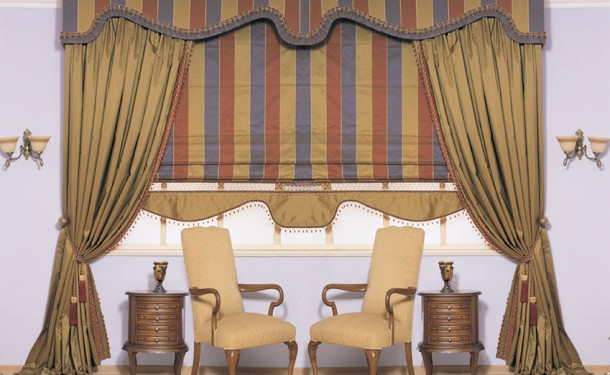 curtains for interior decoration