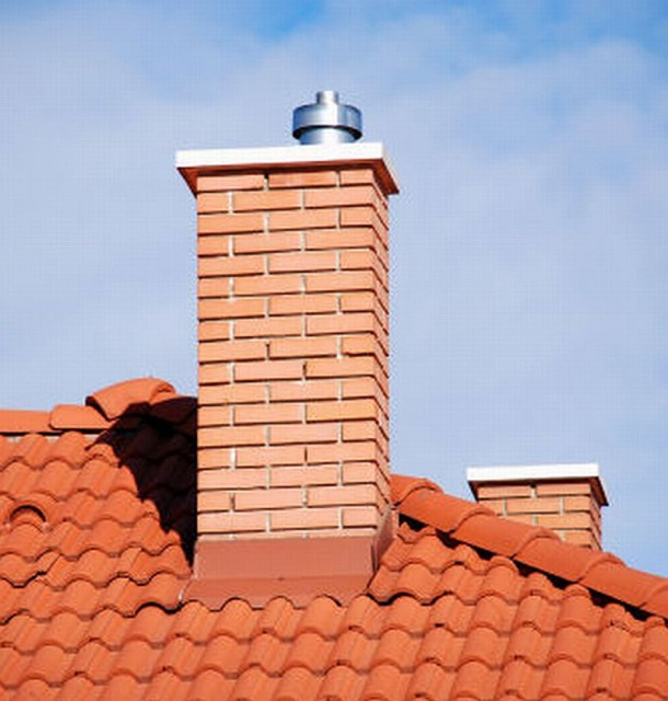 Professional chimney cleaning service