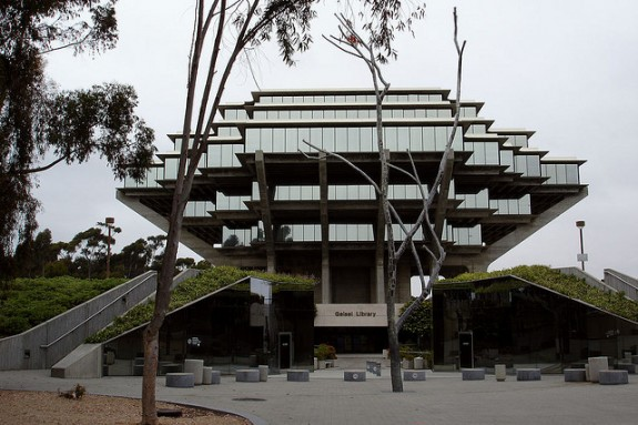 Geisel library San Diego front view