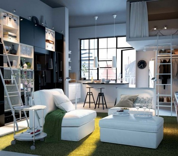 ikea living room design ideas 2012 White