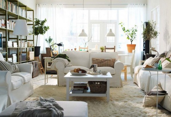 Stylish Living Room Ideas from IKEA