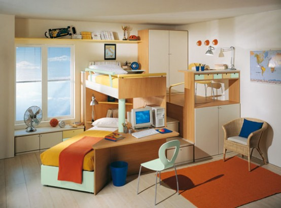 Kids Interior Room Decoration in small space