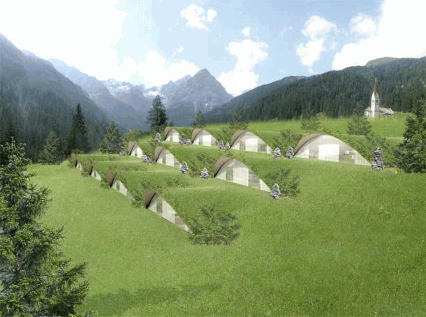 Modern Design klima hotel in Italy