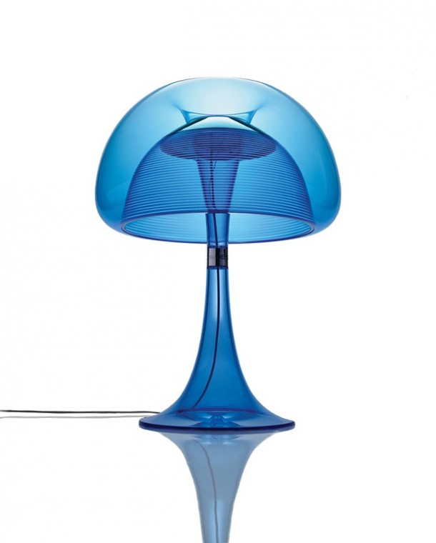 Qisdesig table lamp aurelia in Blue color