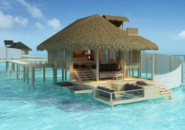 maldives resort villa