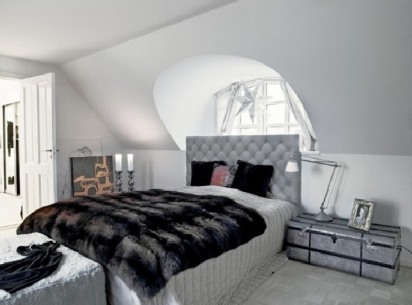 Minimalist House In Denmark Bedroom Design