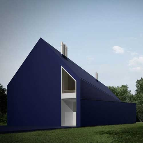 House designed by moomoo architect