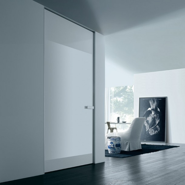 Door Aura designed by Rimadesio