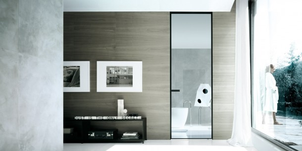 Vela Door designed by Rimadesio