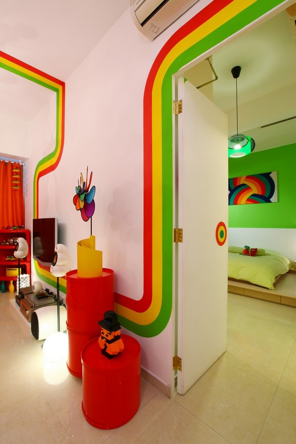 Rainbow House Design