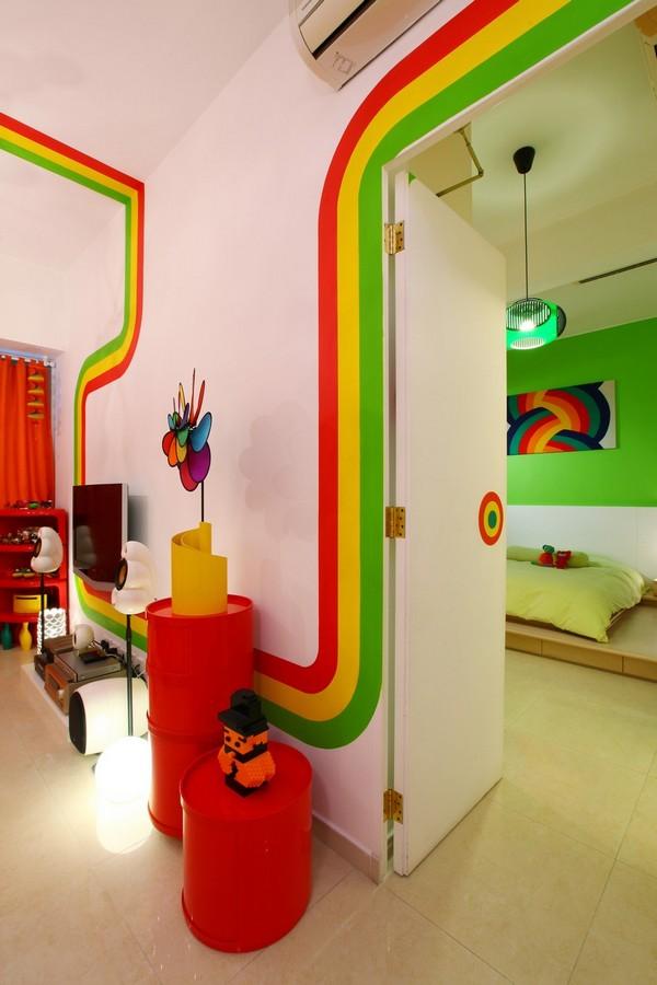 Rainbow House Design