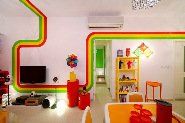 Colorful Interior House