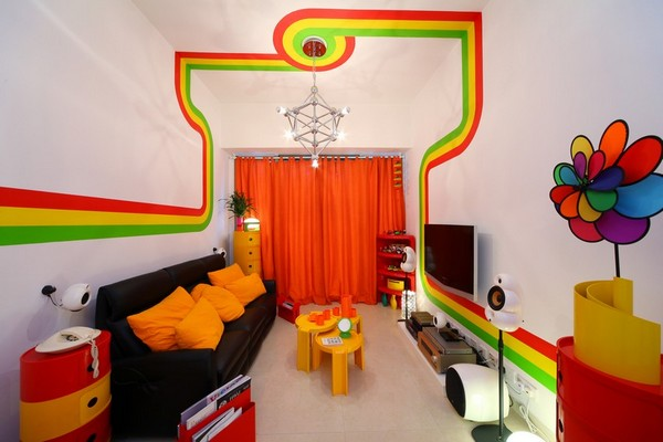 The colorful Home Design