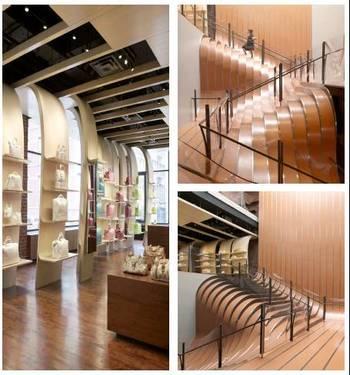 Longchamp Store Stairs