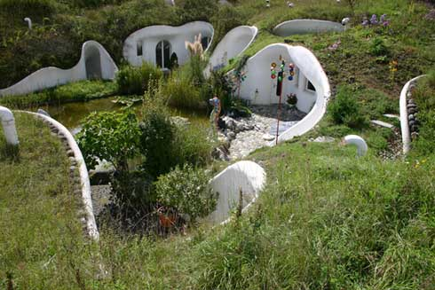 Earth shelteredunderground houses books build for Underground house design