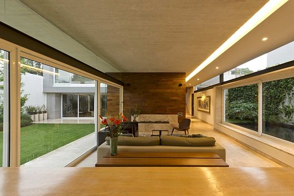AE House in Mexico by twentyfourseven Architects interior