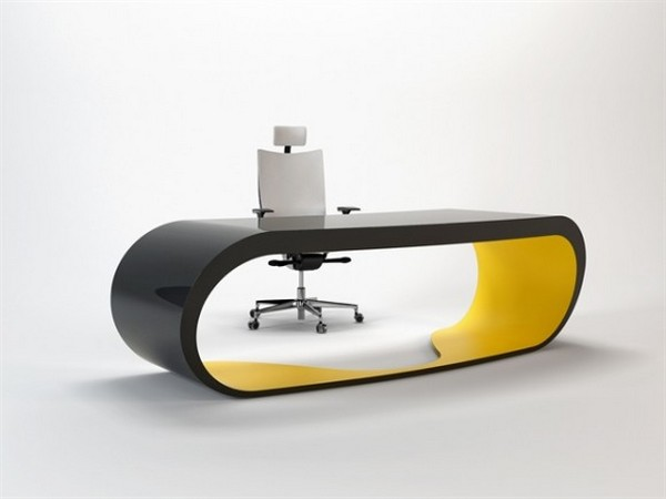 Aerodynamic Google Desk by Danny Venlet