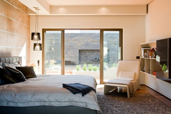 Awesome Bedroom Interior - Architecture Design Aboobaker House in Limpopo