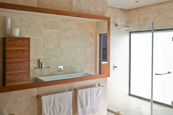 Bathroom Design Interior - Architecture Design Aboobaker House in Limpopo