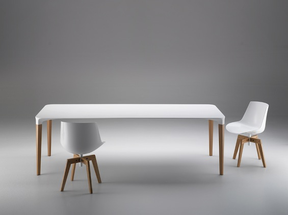 Elegant Beam Table by Luis Alberto Arrivillaga for MDF Italia