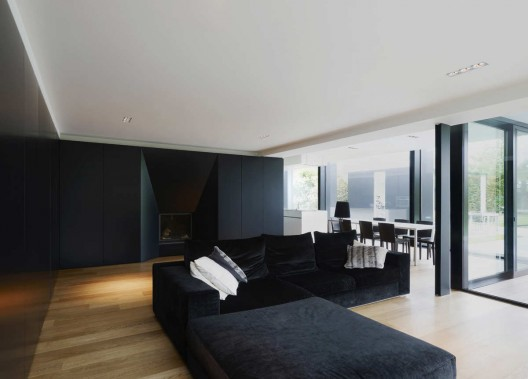 Beautiful interior at House DS by GRAUX & BAEYENS Architecten