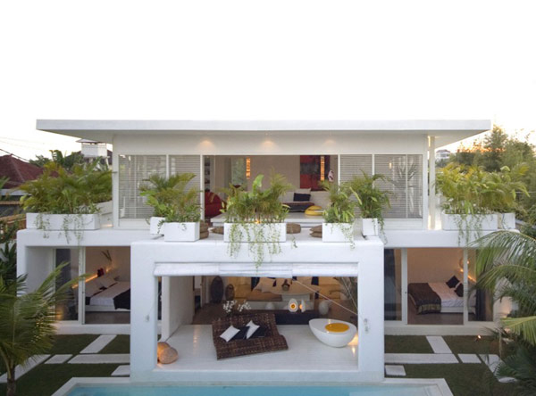 Comfy Patio at Lovelli Residence in Bali