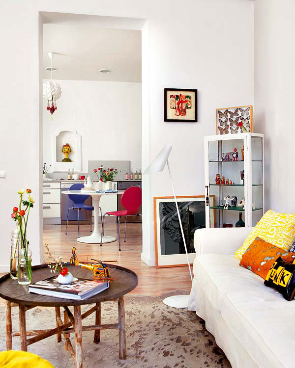 Cool Trend 2012 Apartment Interior Design in Madrid