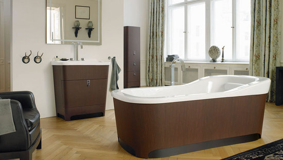 The luxurious Esplanade Bath Furniture Collection