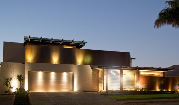 Exterior Design Architecture Design Aboobaker House in Limpopo