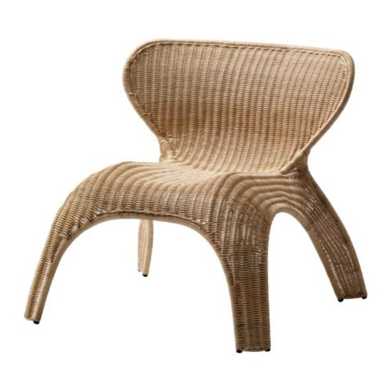 Contemporary Rattan Armchair Collection by IKEA