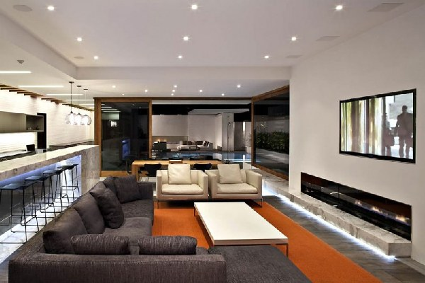 Harborview Hills in California by Laidlaw Schultz Architects Living Room