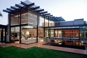 House Glass Architecture Design Aboobaker House in Limpopo