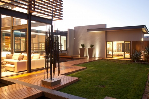 Interior Design Furniture - Architecture Design Aboobaker House in Limpopo