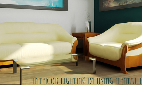 Interior Lighting by using Mental Ray