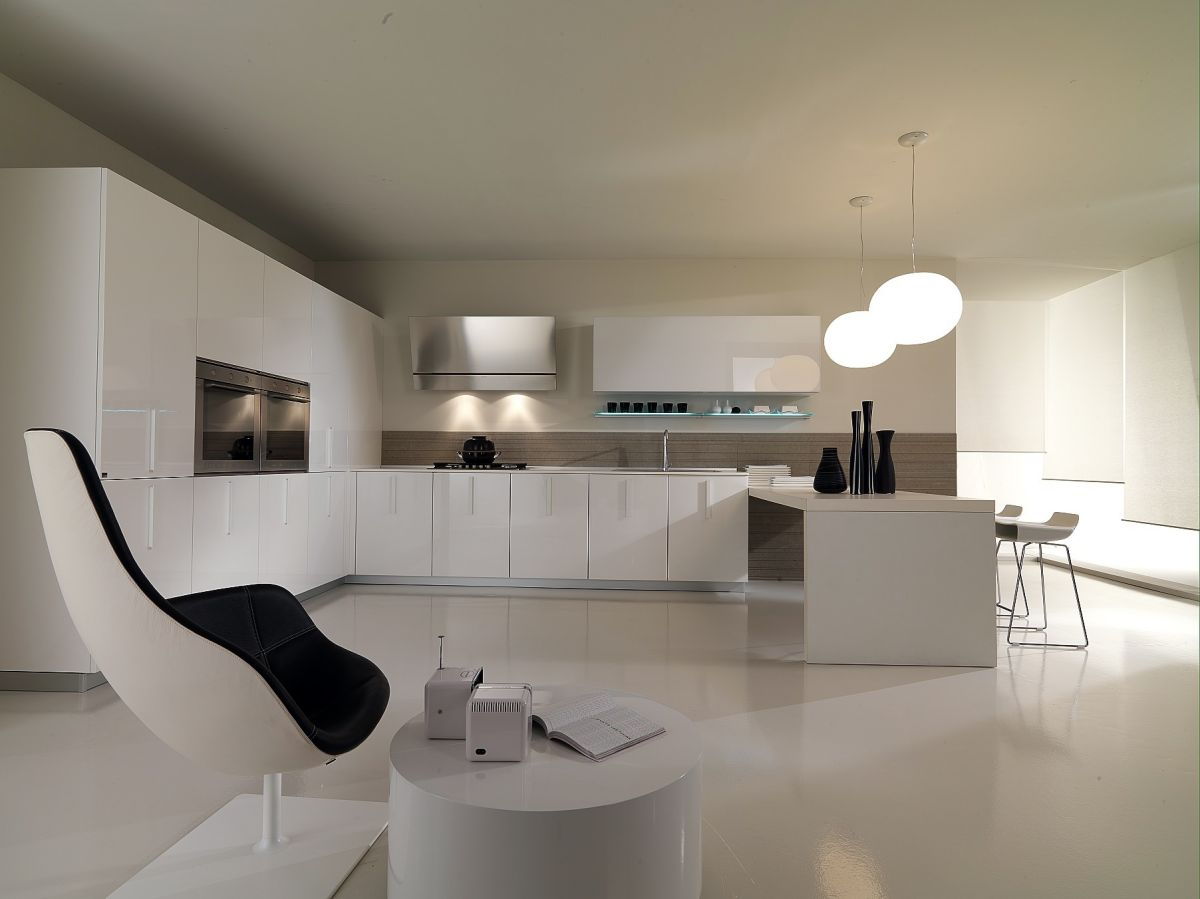 minimalist interior design kitchen on minimalist kitchen designs