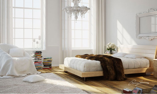 White Wood Interior : 3D Studio Max Best Interior Design Tutorials  3d Architecture ...
