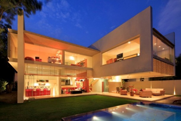 Modern House Architecture Design in Mexico by Hernandez Silva Arquitectos