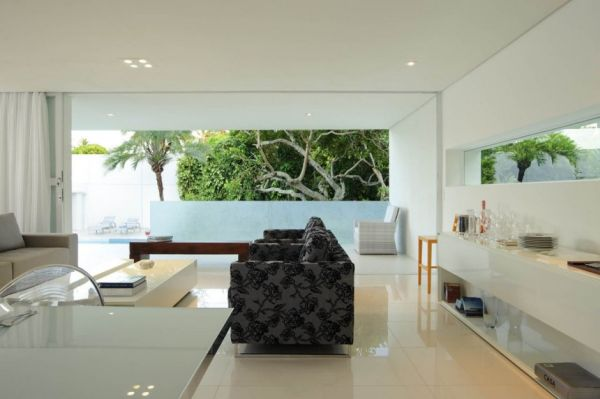 Modern House Design Carqueija House Brazil Interior