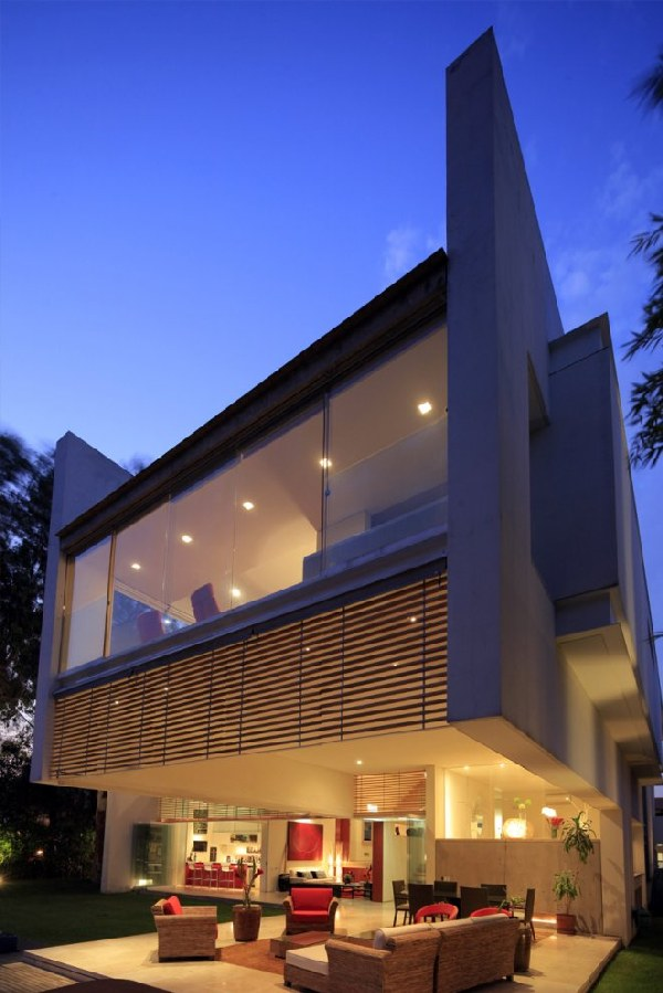 Modern House Design in Mexico by Hernandez Silva Arquitectos