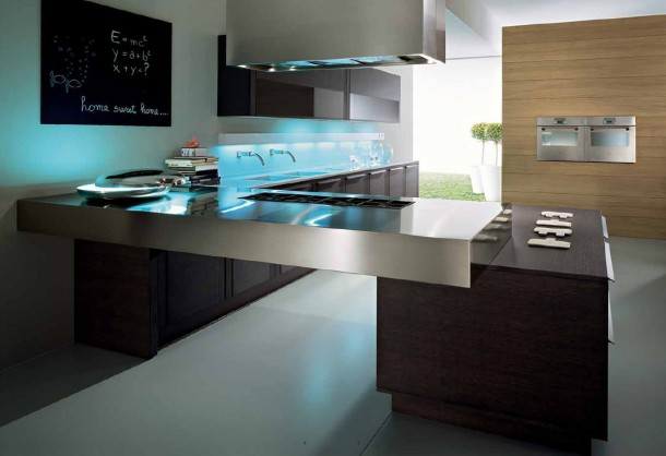 modern kitchen design ideas by pedini - Modern Kitchen Design Ideas