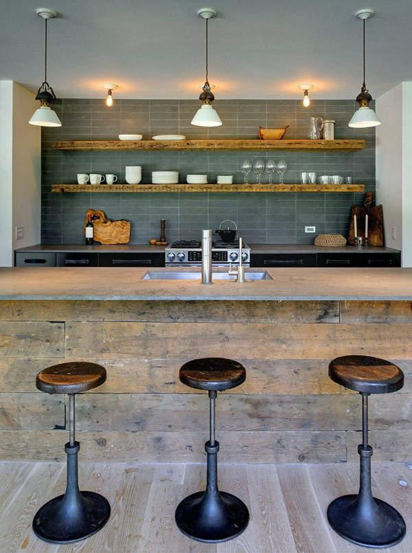 Robins Way Residence by Bates Masi Architects Kitchen