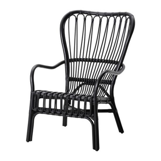 STORSELE High-back armchair