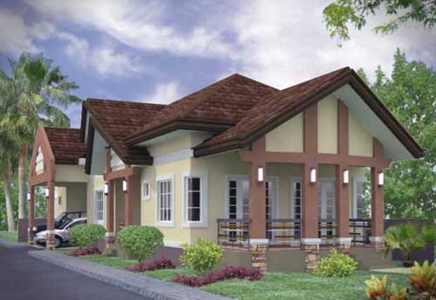 simple home beautiful 3d house design 3d architecture