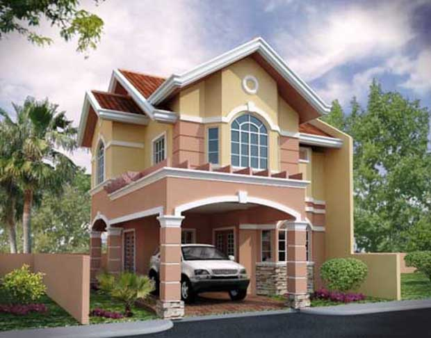 Simple and Modern Home Beautiful 3D House Design