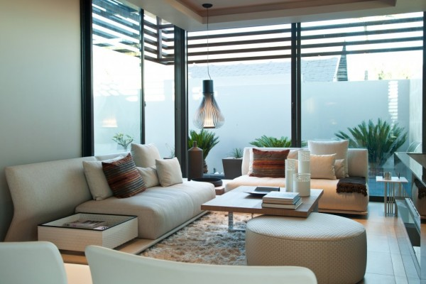 Sofa and Interior Design Furniture - Architecture Design Aboobaker House in Limpopo