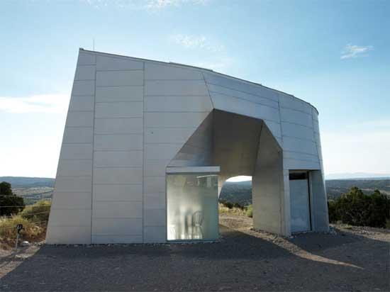Metal-Clad Masterpiece: Modern Desert Home atop a Mesa